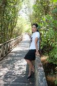 アジア大学生女性 — ストック写真