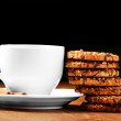 Stock Photo: Cookies with tea