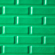 Wall of metallic bricks - Stockfoto