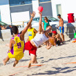 Match of the 19th league of beach handball, Cadiz — Photo