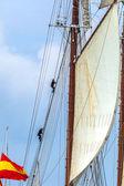 Nave juan sebastian de elcano — Foto Stock