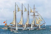 Ship Juan Sebastian de Elcano — Zdjęcie stockowe