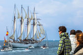 Ship Juan Sebastian de Elcano — Stock Photo