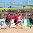 Spanish Championship of Beach Soccer , 2005 — ストック写真