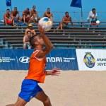 Spanish Championship of Beach Soccer , 2006 — Stock Photo #10040642