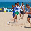 Stock Photo: Spanish Championship of Beach Soccer , 2006