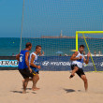 Spanish Championship of Beach Soccer , 2006 — Stock Photo #10040712
