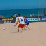 Spanish Championship of Beach Soccer , 2006 — Stock Photo #10040724