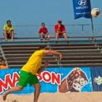 Spanish Championship of Beach Soccer , 2006 — Stock Photo #10040728