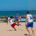 Spanish Championship of Beach Soccer , 2006 — Stock Photo #10040732