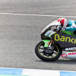 Nico Terol pilot of 125cc  of the MotoGP - Stock Photo