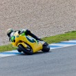 Simone Corsi pilot of Moto2  of the MotoGP — Stock Photo
