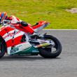Stefan Bradl pilot of Moto2 in the MotoGP - Stock Photo