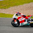 Foto de Stock  : StefBradl pilot of Moto2 in MotoGP