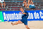 испанский чемпионат по пляжному футболу, 2005 — Стоковое фото