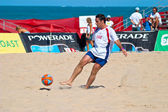 Spanish Championship of Beach Soccer , 2005 — Stock Photo