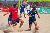 Hiszpańskie mistrzostwa piłki plażowej, 2005 — Zdjęcie stockowe