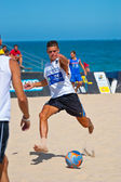 Spanish Championship of Beach Soccer , 2006 — ストック写真