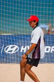 Spanish Championship of Beach Soccer , 2006 — Stock Photo