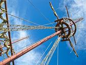 Spanish galleon — Stock Photo