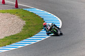 Nico Terol pilot of 125cc of the MotoGP — Stock Photo
