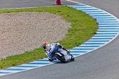 Maverick Viñales pilot of 125cc of the MotoGP — Foto de Stock