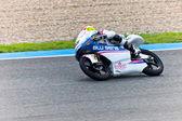 Maverick Viñales pilot of 125cc of the MotoGP — Stock Photo