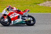 Stefan Bradl pilot of Moto2 in the MotoGP — Stock Photo