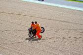 Daniel Kartheininge pilot of 125cc in the MotoGP — Stock Photo