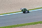 Hector faubel pilote de 125cc de la motogp — Photo
