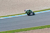 Hector Faubel pilot of 125cc of the MotoGP — Foto de Stock