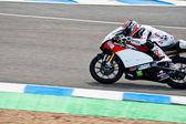 Louis rossi pilot motogp 125cc — Stok fotoğraf