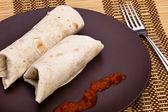 Burritos — Foto de Stock