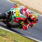 Постер, плакат: Valentino Rossi pilot of MotoGP