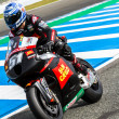Michelle Pirro pilot of MotoGP — Foto Stock