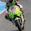 Постер, плакат: Hector Barbera pilot of MotoGP