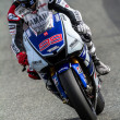 Jorge Lorenzo pilot of MotoGP — Stock Photo
