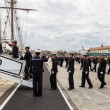 Midshipmen of the ship Juan Sebastian de Elcano - Stock Photo