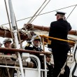 Admiral embarking — Stock Photo #10391332
