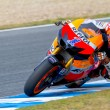 Casey Stoner pilot of MotoGP - Stock Photo