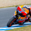 Casey Stoner pilot of MotoGP — Stock Photo