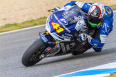 Aleix Espargaro pilot of MotoGP — Stock Photo