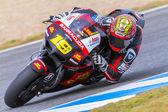 Alvaro Bautista pilot of MotoGP — Stock fotografie