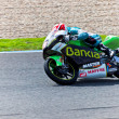 Nico Terol pilot of 125cc  of the MotoGP — Stockfoto