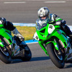 ������, ������: Araujo 8 and Cruz 9 pilots of Kawasaki Ninja Cup