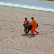 Постер, плакат: Daniel Kartheininge pilot of 125cc in the MotoGP