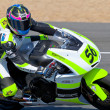 Blake Leigh-Smith pilot of Moto2 of the CEV — Stock Photo