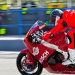Roman Ramos pilot of Moto2  of the CEV Championship — Stock Photo