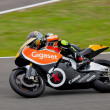 Stock Photo: Carmelo Morales pilot MOTO2 in CEV