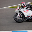 Stock Photo: Nicolas Felipe pilot of MOTO2 in CEV